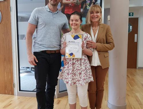 Isobel's coaching skills recognised for award