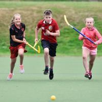 Children enjoying sport