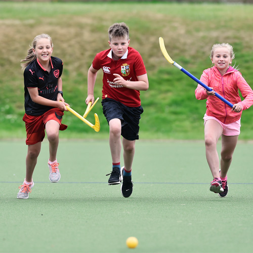 Children enjoying sport