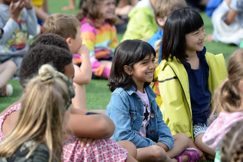 Children on camp